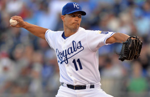 MLB: Texas Rangers at Kansas City Royals